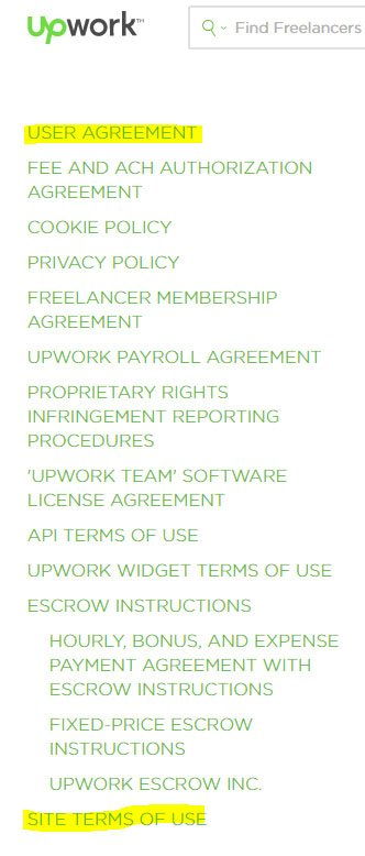 Differences Between Common Legal Agreements Termsfeed