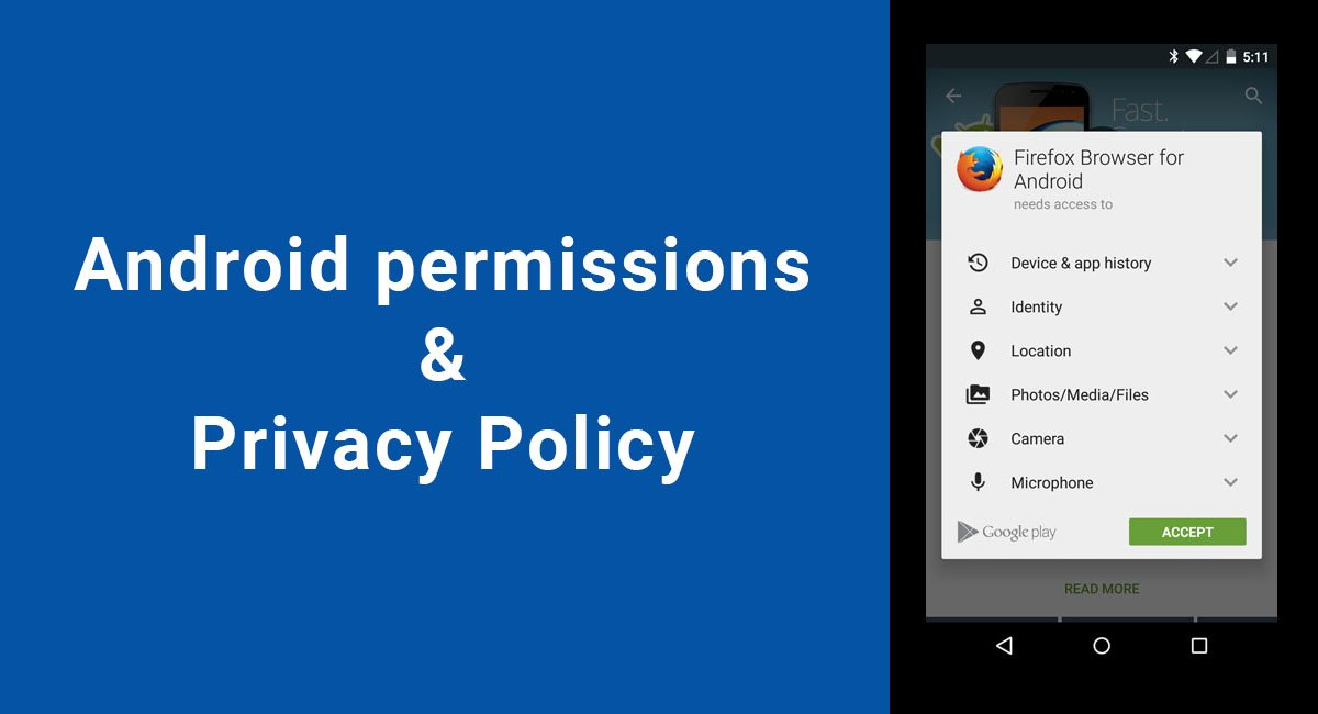Android Permissions That Need a Privacy Policy