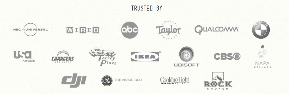 FortyOneTwenty About Us page: Logos in Trusted by list