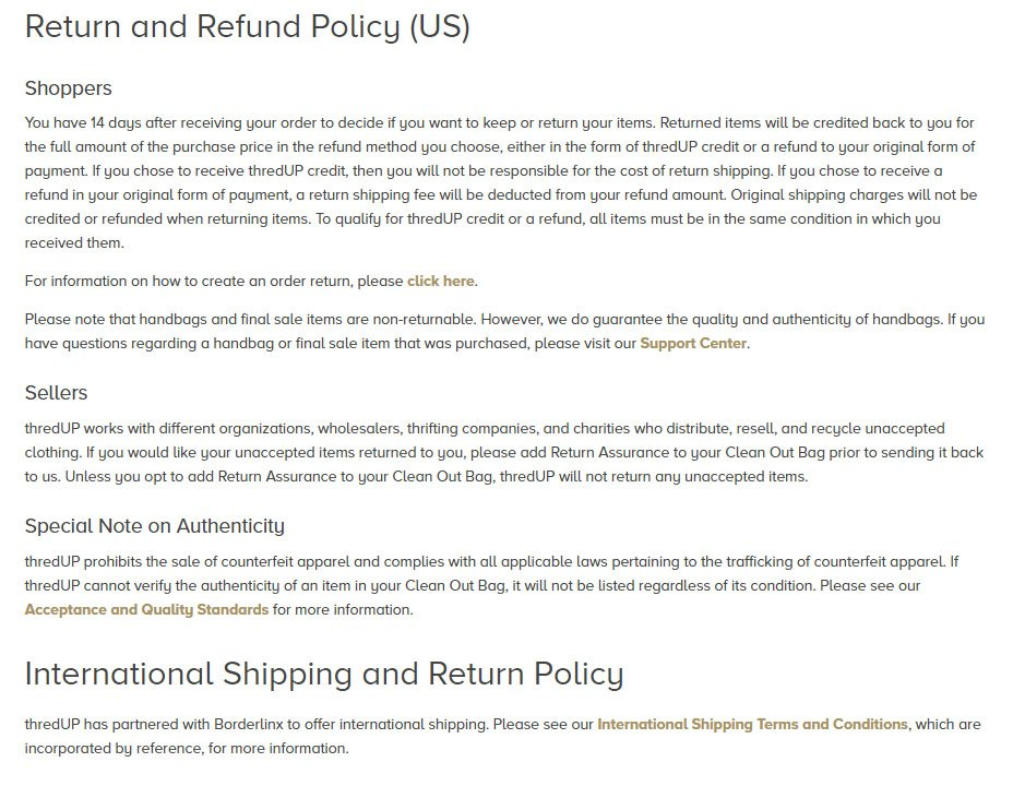 Is The Refund  Return Policy A Legal Document  Termsfeed