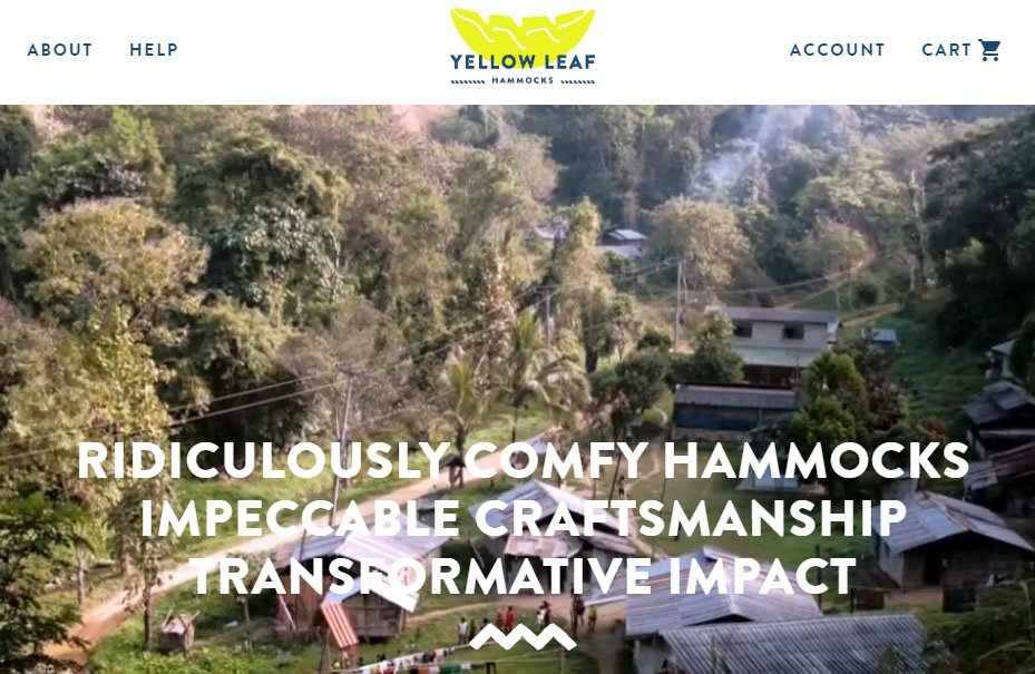 Yellow Leaf Hammocks About Us page