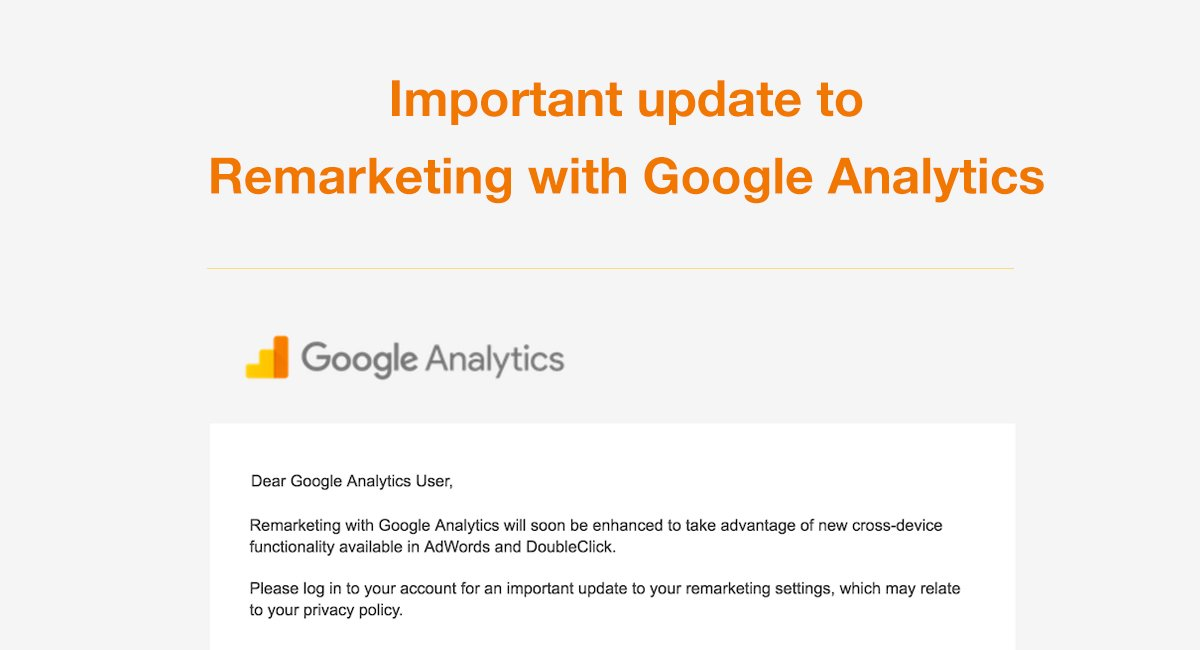 Image for: 2017 Update to Remarketing with Google Analytics