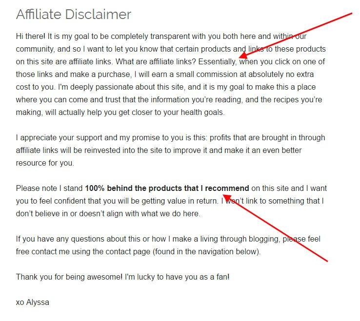 How To Write A Blog Disclaimer Termsfeed