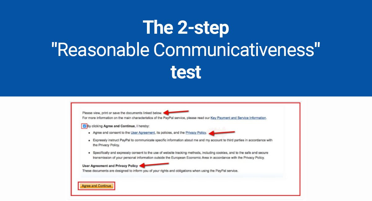"Image for: The 2-step ""Reasonable Communicativeness"" test"