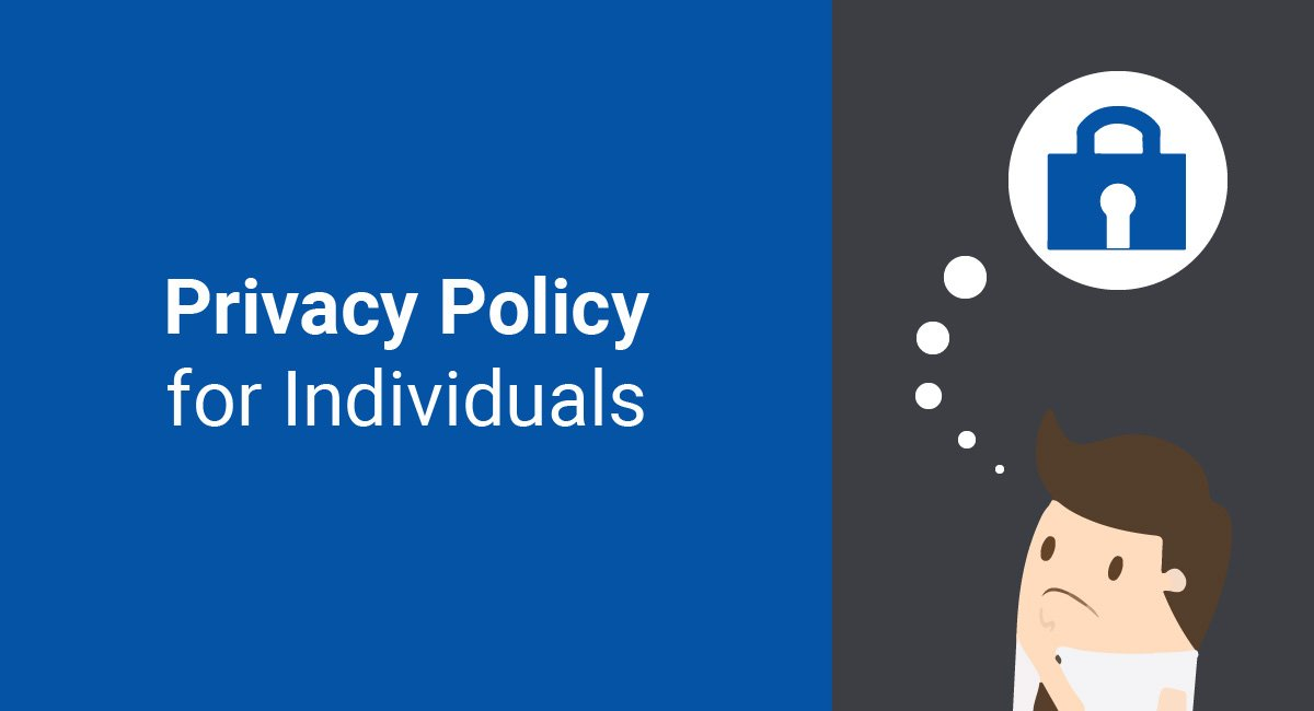 Privacy Policy for Individuals