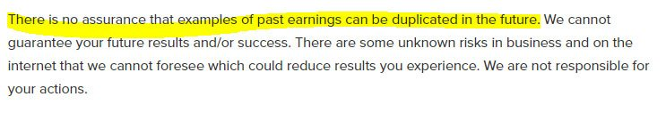 Earnings Disclaimer >> When and How to Write an Earnings Disclaimer - TermsFeed