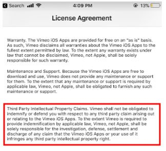 Custom EULA to Meet Apple's Minimum Requirements - TermsFeed