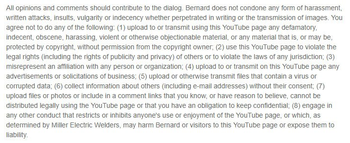 Youtube Disclaimers And How To Draft Them Termsfeed