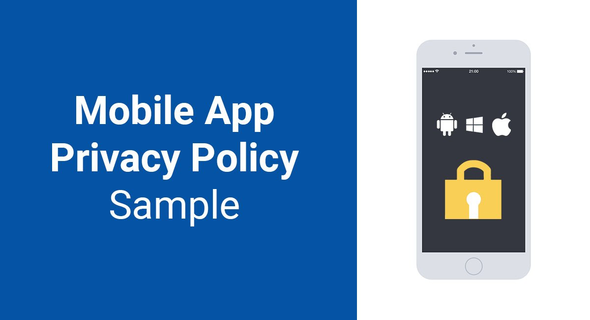 Image for: Mobile App Privacy Policy Sample