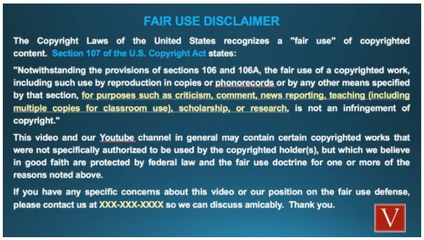 YouTube Disclaimers and How to Draft Them - TermsFeed