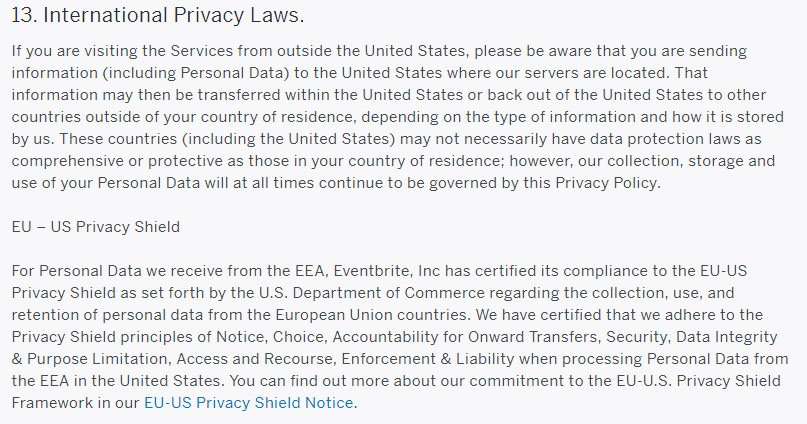 Gdpr Privacy Policy  Termsfeed