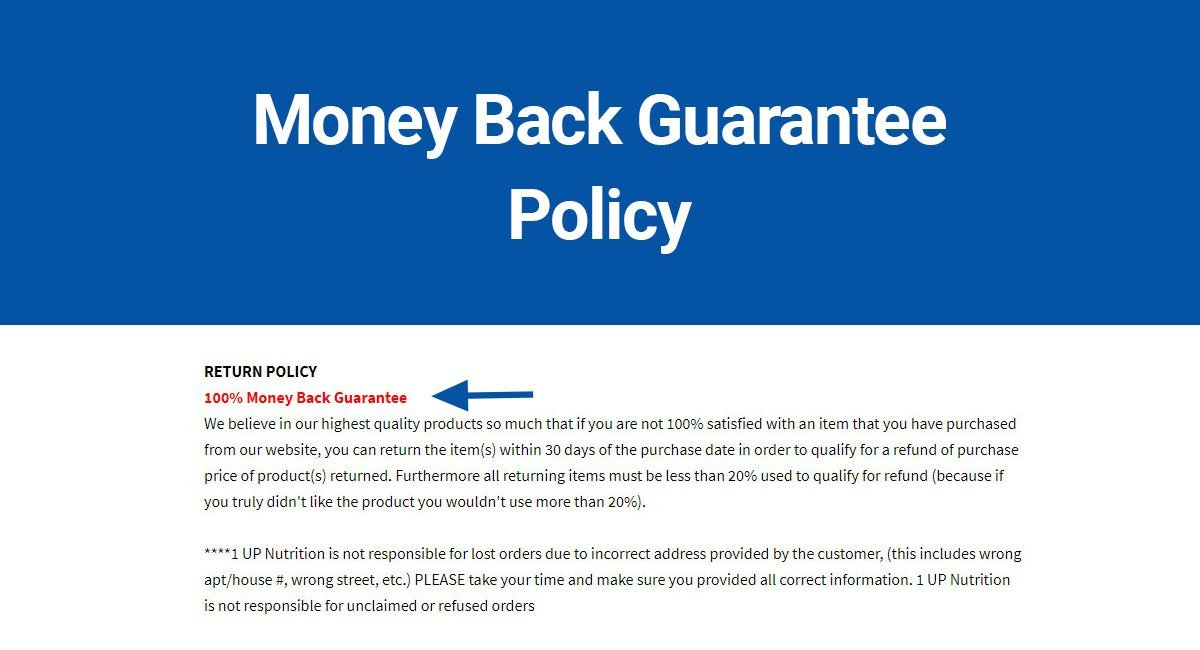 Image for: Do You Need a Money Back Guarantee?