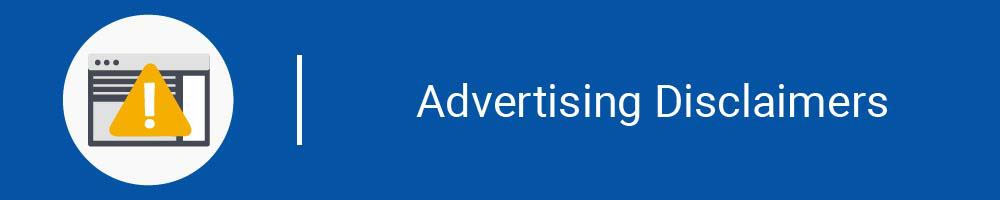 Advertising Disclaimers Image