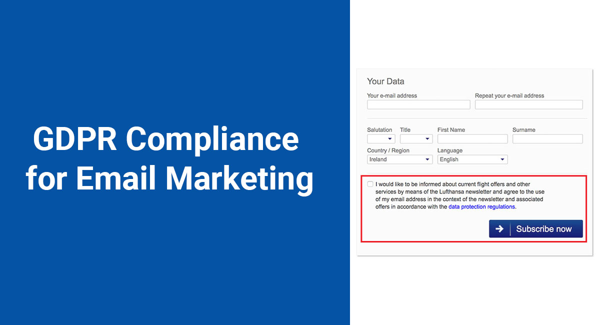 Are Your Marketing Communications Gdpr Compliant Termsfeed