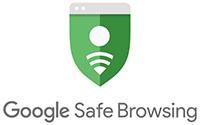 Google Safe Browsing logo - Green