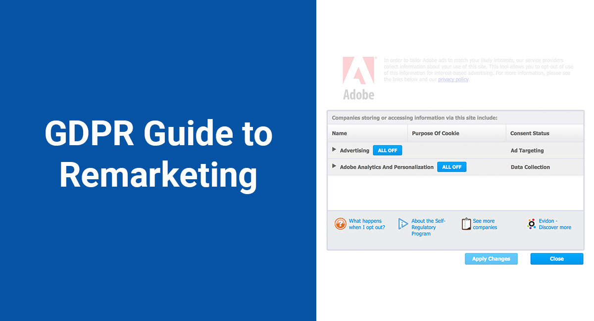 Image for: GDPR Guide to Remarketing
