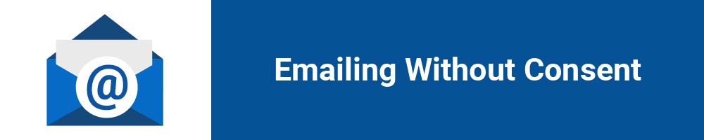 Emailing Without Consent
