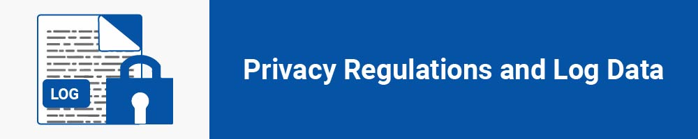 Privacy Regulations and Log Data