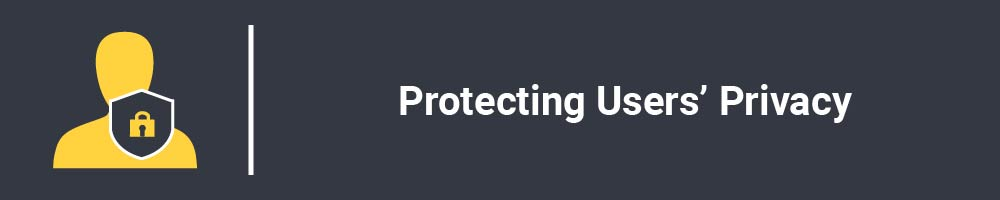 Protecting Users' Privacy
