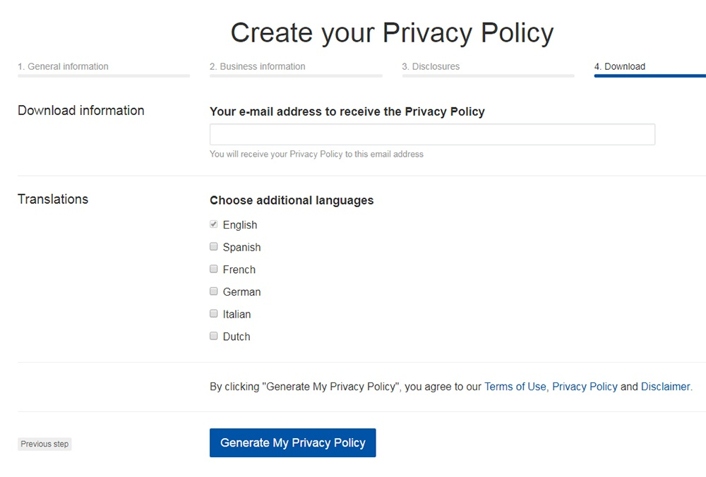 Privacy Policies Are Mandatory By Law Termsfeed