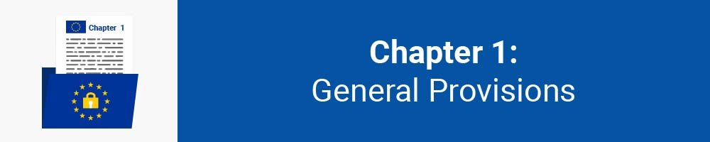 Chapter 1: General Provisions