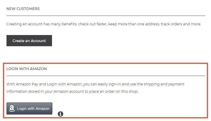 Amazone login