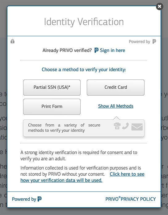 Privo: Parental consent and identity verification tool - COPPA