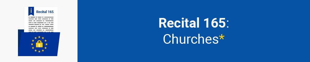 Recital 165 - Churches