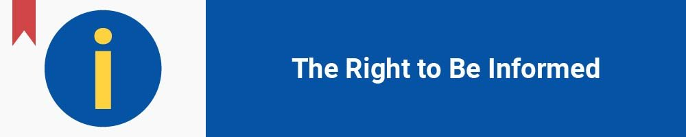 The Right to Be Informed