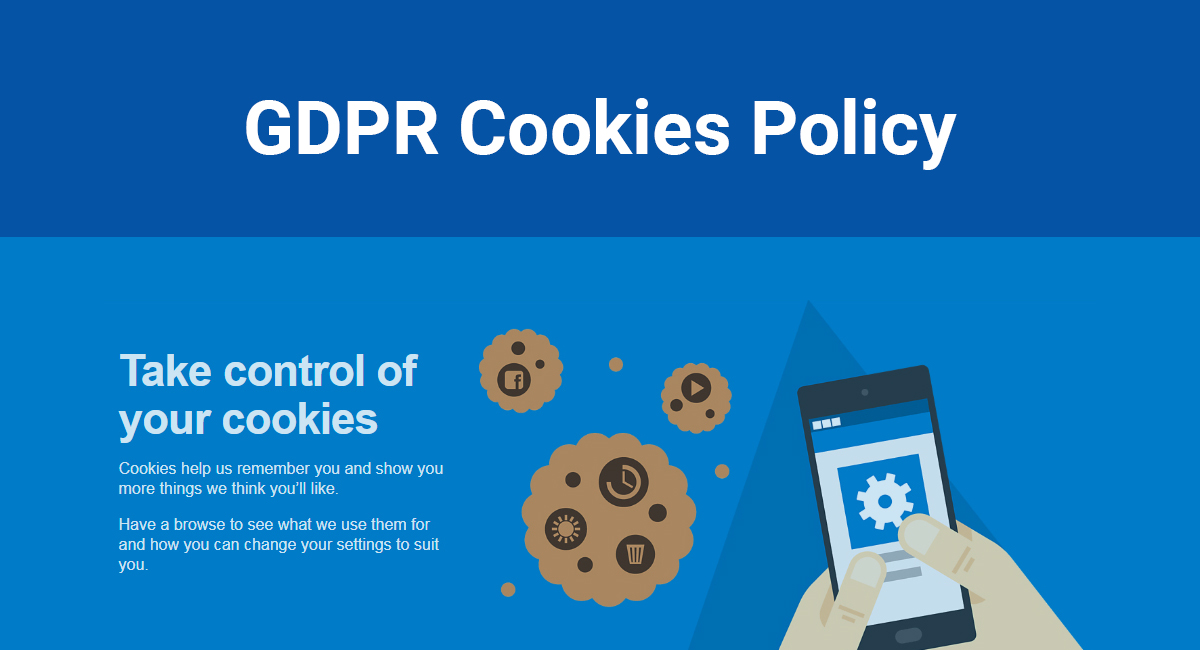 Image for: GDPR Cookies Policy