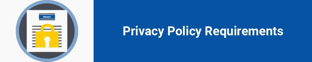 Privacy Policy Requirements