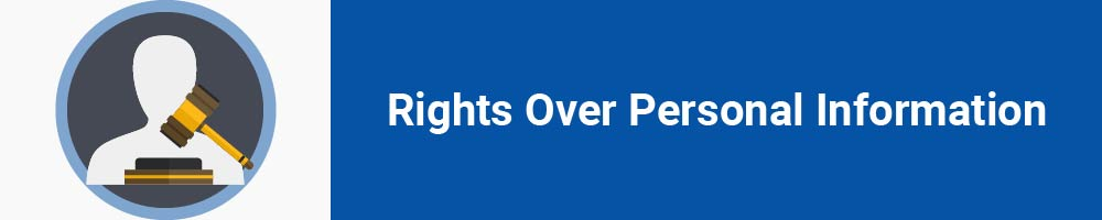 Rights Over Personal Information