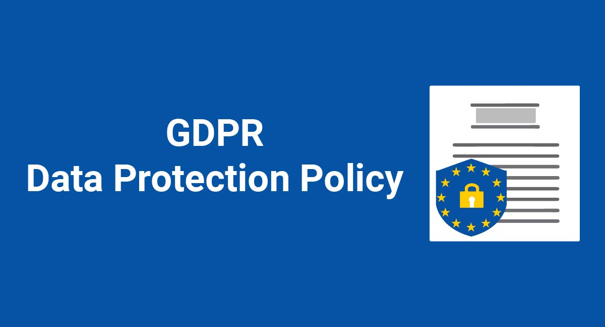 Image for: GDPR Data Protection Policy