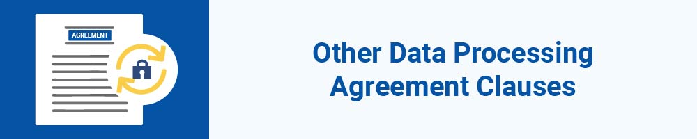 Other Data Processing Agreement Clauses