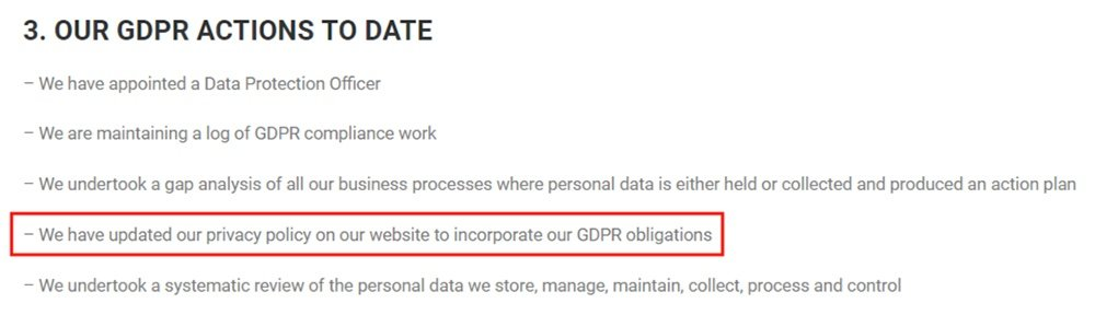Anuncia GDPR Compliance Statement: Our GDPR Actions to Date - Updated Privacy Policy