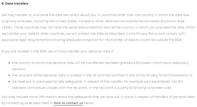 GDPR Privacy Policy - TermsFeed