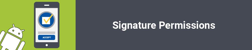 Signature Permissions