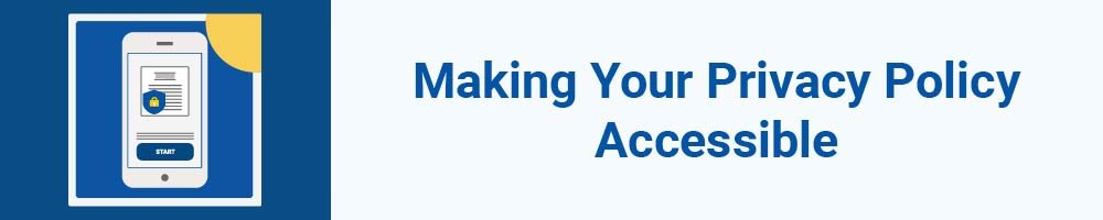 Making Your Privacy Policy Accessible