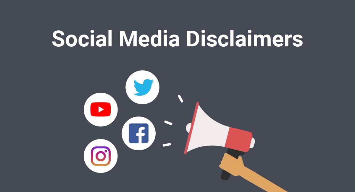 Image for: Social Media Disclaimers