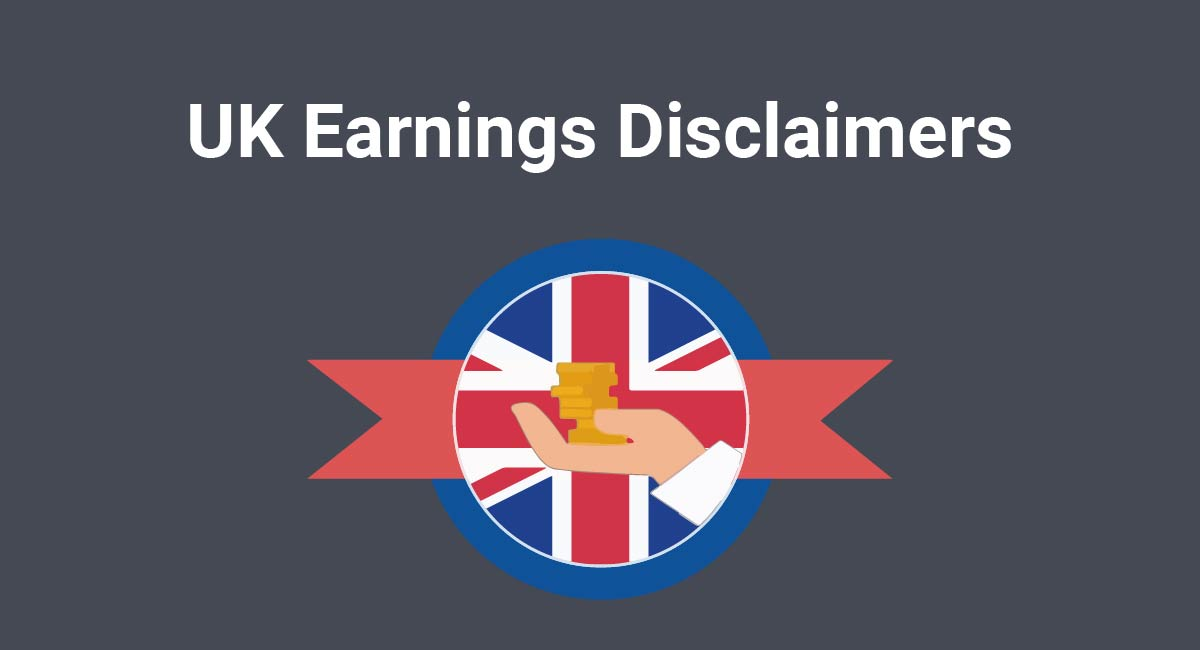 UK Earnings Disclaimers