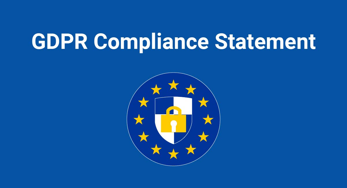 Image for: GDPR Compliance Statement