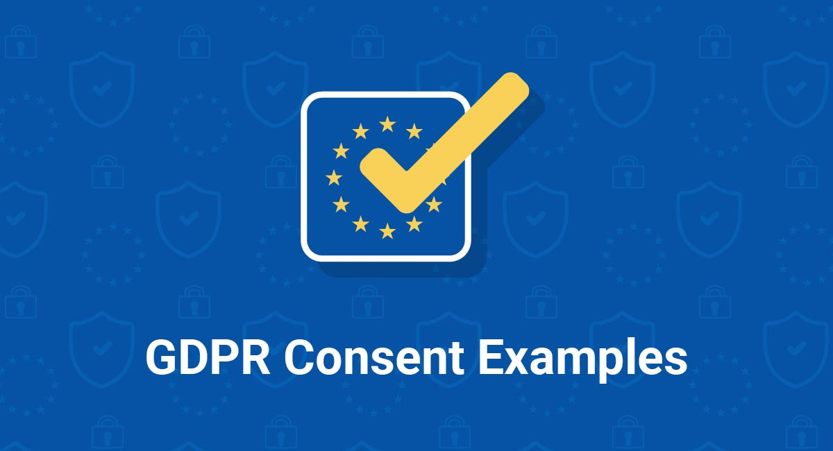 Image for: GDPR Consent Examples