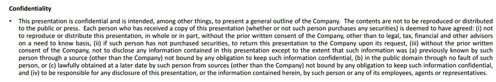 Moovly presentation: Confidentiality disclaimer