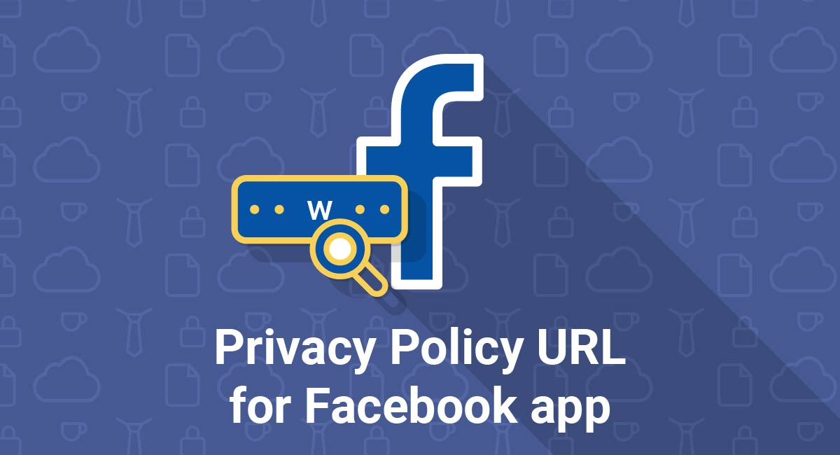 Image for: Privacy Policy URL for Facebook app