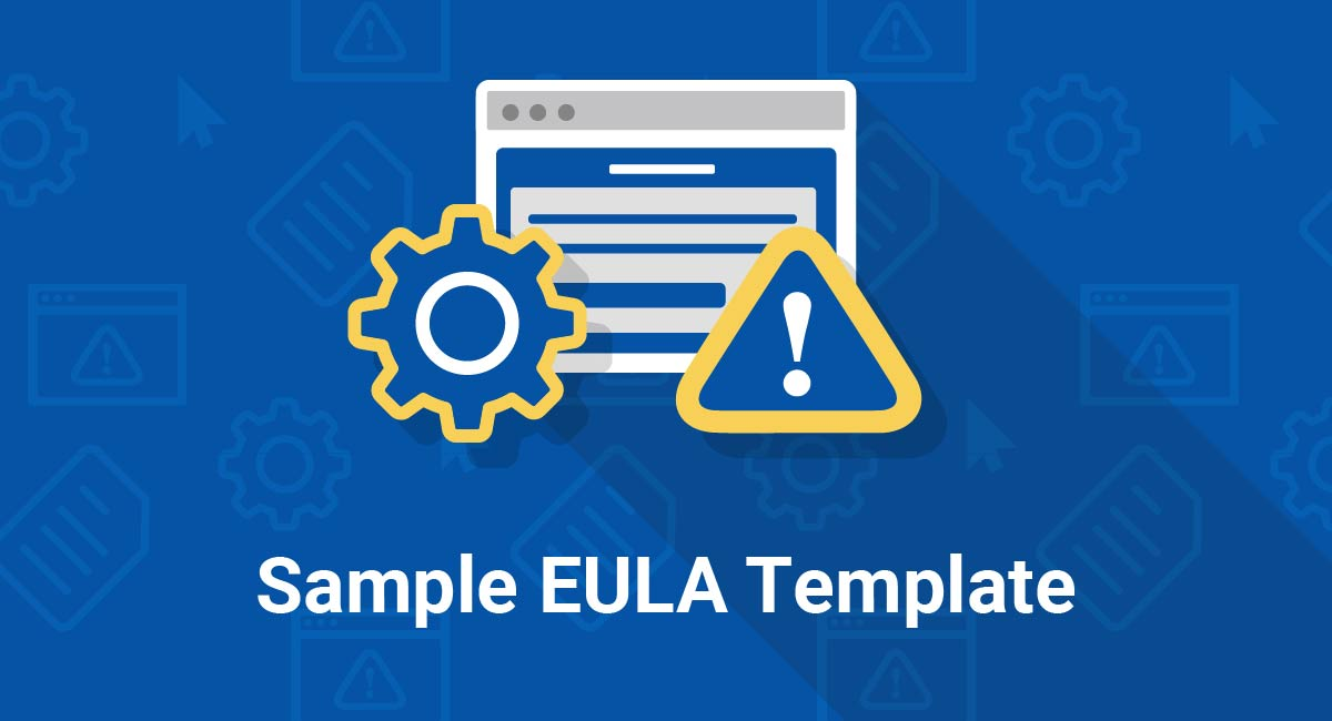 Image for: Sample EULA Template
