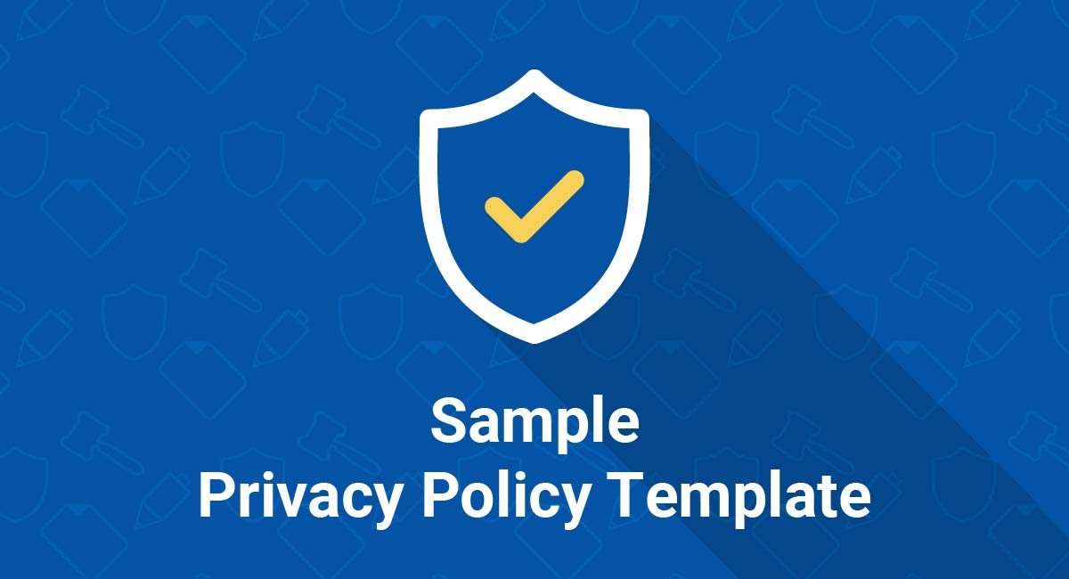 Image for: Sample Privacy Policy Template
