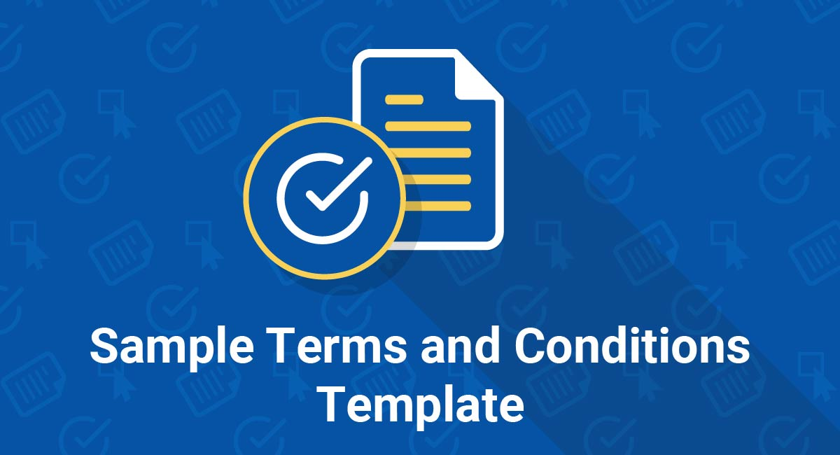 Image for: Sample Terms and Conditions Template