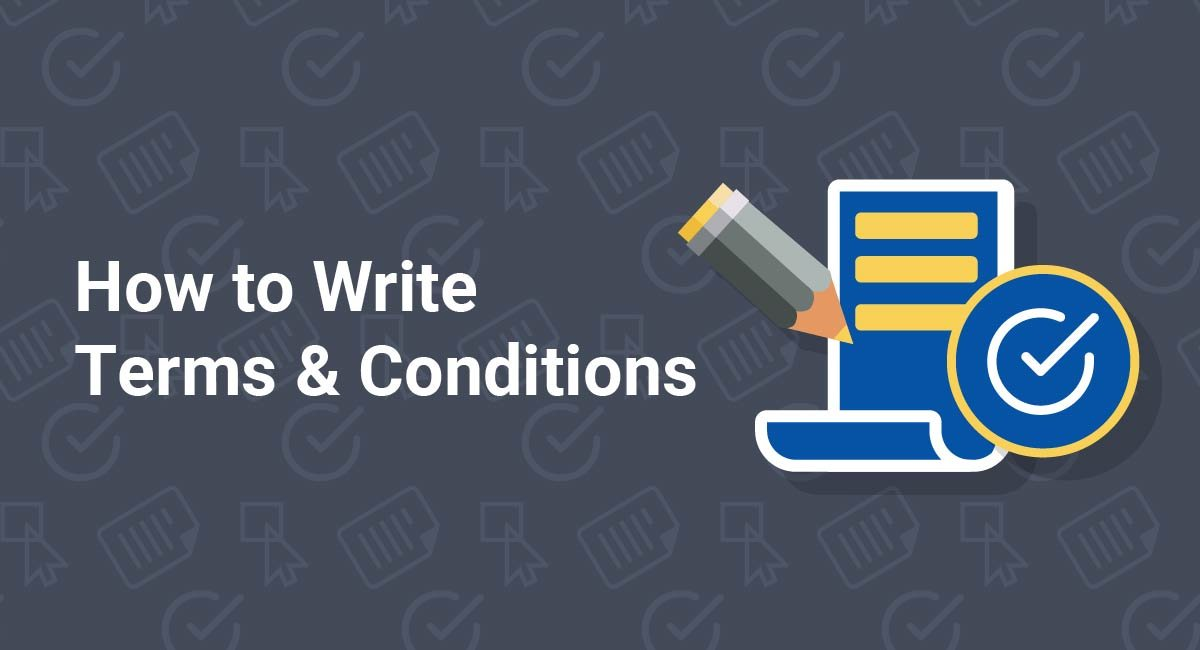 How to Write Terms & Conditions