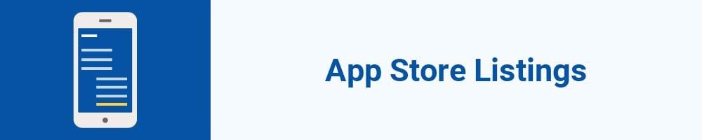 App Store Listings