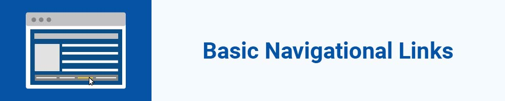 Basic Navigational Links